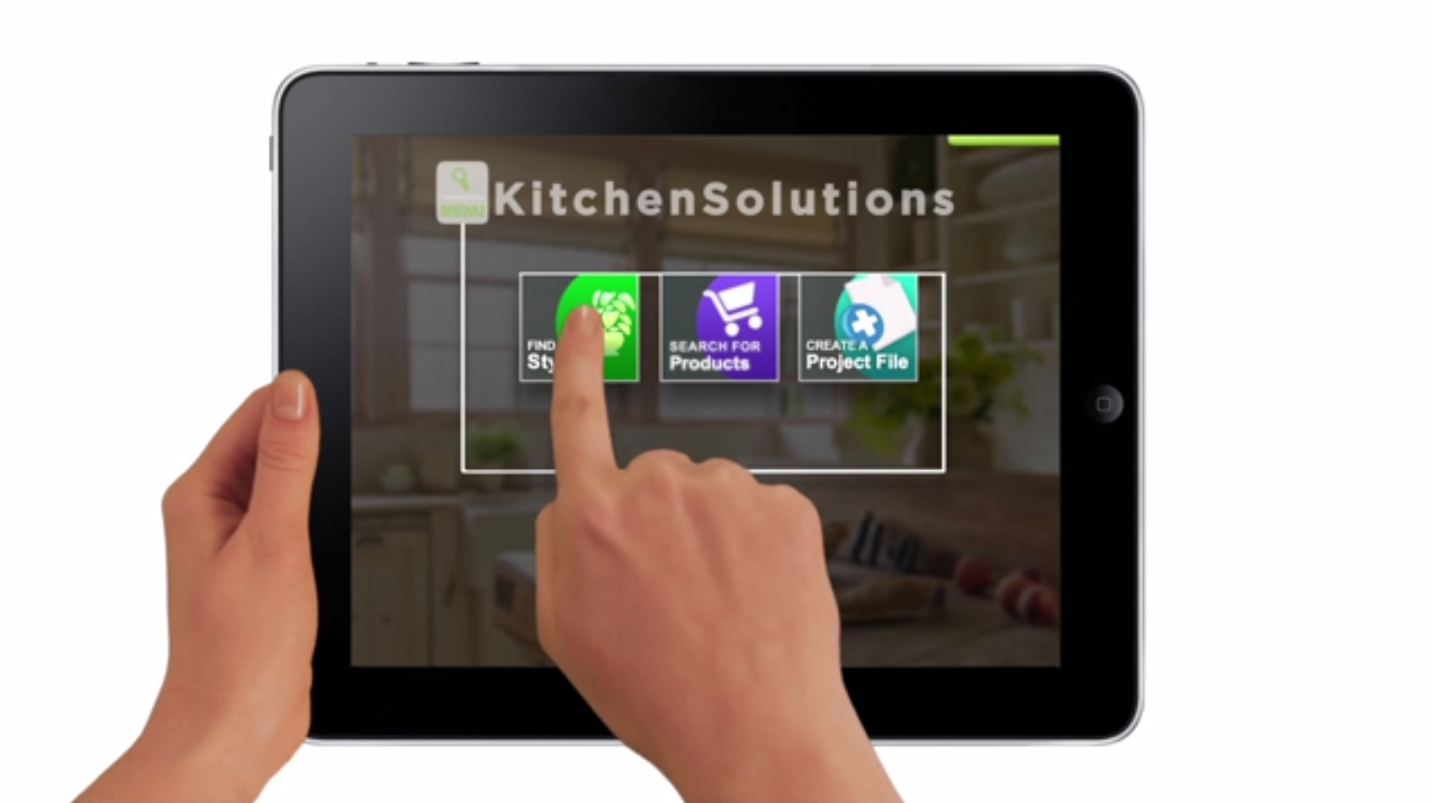 Application Demo by Kitchen Solutions Application