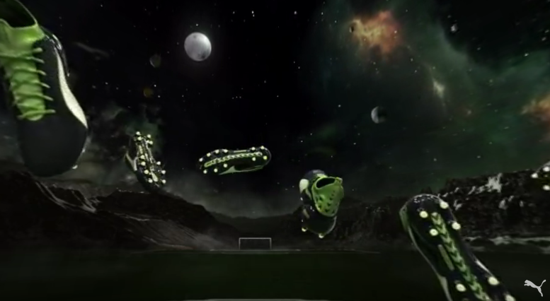 Create Gravity in this VR Experience for Puma's evoTOUCH