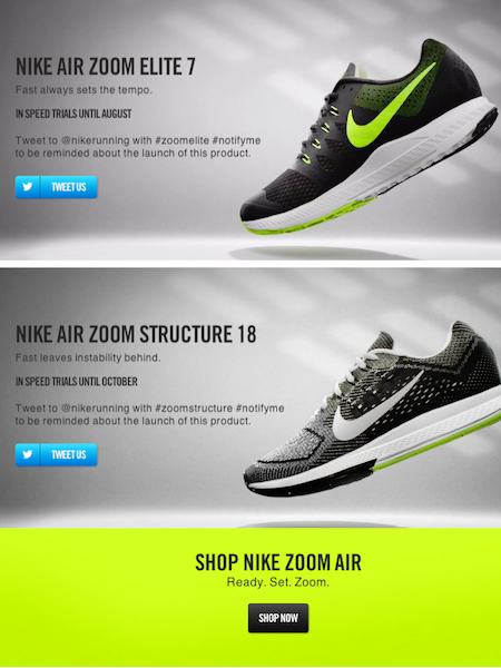 Nike Zoom Air Web Videos by Swanson